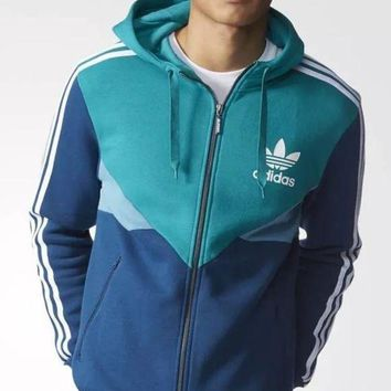 CREYON Day First Adidas: 2016 male sports coat thin outdoor windproof coat