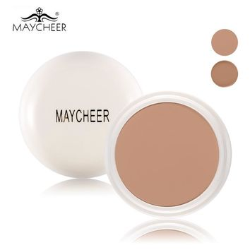 MAYCHEER Brand Makeup Concealer Cream Hide Blemish Dark Circle Scars Acne Perfect Cover Make Up Face Foundation Cream SPF 30