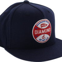 Diamond Kings Hat Adjustible Navy Snapback