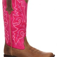 Durango Women's Crush Hot Pink Cowgirl Boots - Square Toe - Sheplers