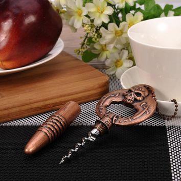 New Arrival ! Retro Multifunctional Skull Opener Kitchen Bar Tools