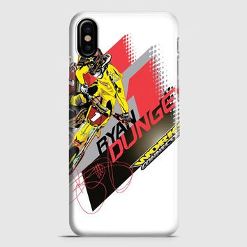 Ryan Dungey 5 Ktm Motocross Fox Team iPhone X Case | casescraft