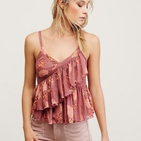 Free People Melbourne Printed Tank