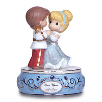 Disney Cinderella and Prince Charming Figure by Precious Moments | Disney Store