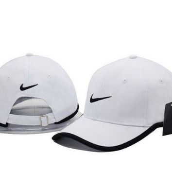 ESBONMI Cool NIKE GOLF NEW Adjustable Fit DRI FIT SWOOSH FRONT BASEBALL CAP HAT