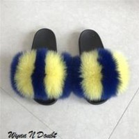 Warrior Fur Slippers
