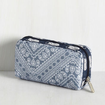 Travel Big Sky, Bandana Pouch by ModCloth