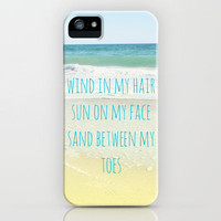 Wind In My Hair iPhone Case by Shawn Terry King | Society6