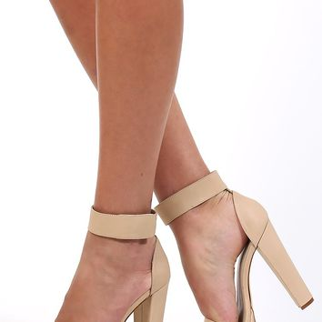 0061605040f Windsor Smith Malibu Heels Bone from Beginning Boutique