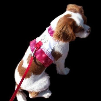 Strawberry Harness Vest for Cats and Dogs by miascloset on Etsy