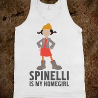 Spinelli is my Homegirl (tank) - Films and Such