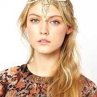 ASOS Draping Faux Pearl Hair Crown