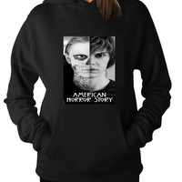 American Horror Story Tate Langdon Evan Peter 7333b04e-0e03-4caf-bc52-7a737680262b For Man Hoodie and Woman Hoodie S / M / L / XL / 2XL*AP*