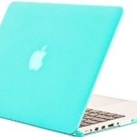 "Neway Matte Surface Crystal Rubberized Case coverfor Apple Macbook Pro 13.3"" with Retina Display Model: A1425 and A1502 (NEWEST VERSION 2013),13.3"" Retina,Tiffany blue: Amazon.ca: Electronics"