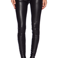 MOTHER The Sandy Legging in Black