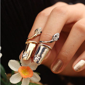 Jewelry Shiny Stylish New Arrival Gift Accessory Strong Character Ring [6573108871]