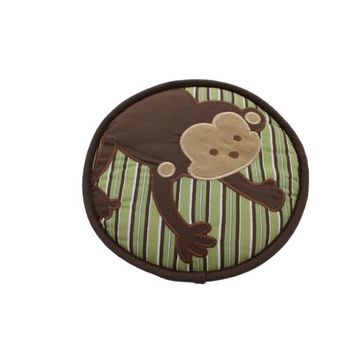 Kids Line Embroidered Baby Boy Monkey Wall Decor