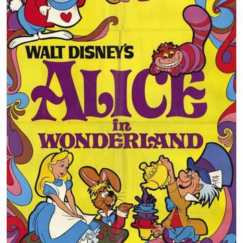Alice in Wonderland 27x40 Movie Poster (1981)