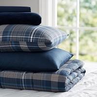 Heritage Plaid Deluxe Value Comforter Set