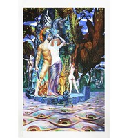 Ernst Fuchs - Original Giclee On Canvas -  Hand Signed, Limited Edition