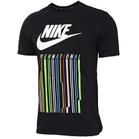 Nike Woman Men Fashion Casual Sports Shirt Top Tee-9
