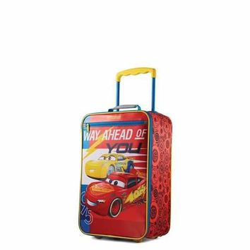 American Tourister 18 Inch Softside Upright - Disney Cars
