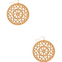 Boho Medallion Drop Earrings