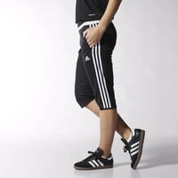 adidas Tiro 15 Three-Quarter Pants - Black | adidas US
