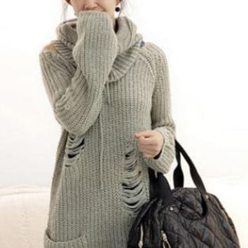 Gray Twinset Sweater S000943