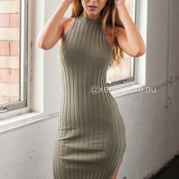 Dream Of Ribbed Dress