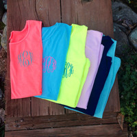 Monogram Tank - Swimsuit Cover