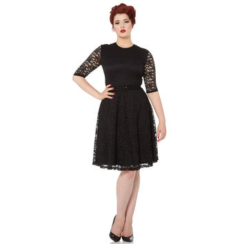 Voodoo Vixen Marie Long Sleeve Lace Dress