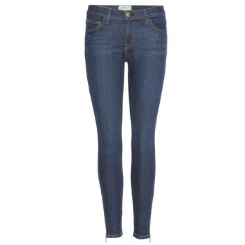 current/elliott - the zip stiletto skinny jeans