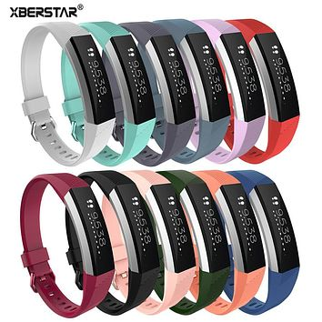 Luxury Genuine Leather Classic Wrist Band Watch Strap For Fitbit Alta HR Heart Rate Fitness Watchbands Bracelet High Quality