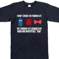 Navy T-Shirt | Cute Doctor Who Shirts