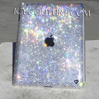 Swarovski Crystal Bling iPad Cover Case custom made