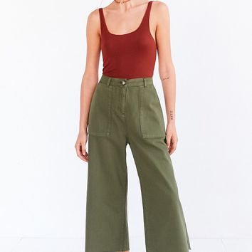 BDG Utility High-Rise A-Line Culotte Pant
