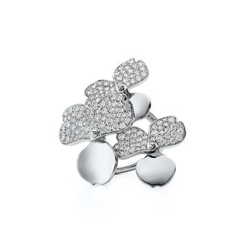 Tiffany & Co. - Tiffany Paper Flowers™:Diamond Cluster Ring