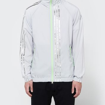 Adidas x Kolor / Track Jacket in Light Solar Grey
