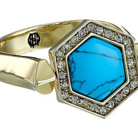 House of Harlow 1960 Hexes Flip Ring Turquoise - Zappos.com Free Shipping BOTH Ways