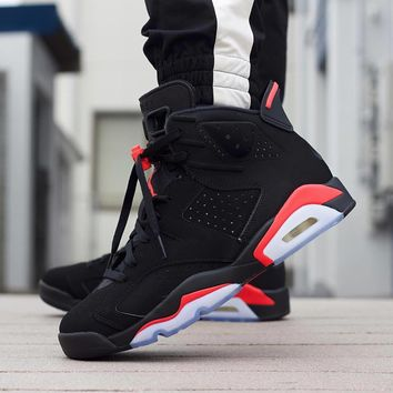 Air Jordan 6 Black/Infrared - Best Deal Online