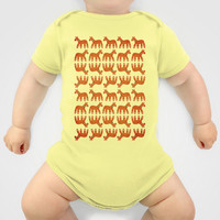 Gingerbread Unicorn Baby Clothes by That's So Unicorny