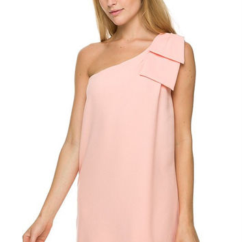 Save the Date Dress - Soft Peach
