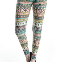 Printed Leggings - Print 1