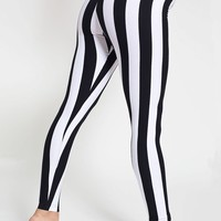 8328st - Stripe Cotton Spandex Jersey Legging