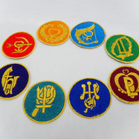 Sailor Moon Crystal senshi patch 2 inch