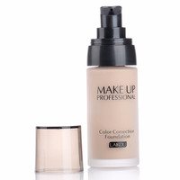 Professional Cosmetic Makeup Lasting Finish 24 Hour Moisture Isolation Waterproof Oil-control Correction Foundation 3 colors