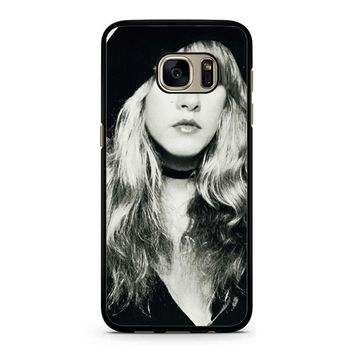 Stevie Nicks Black And White Samsung Galaxy S7 Case