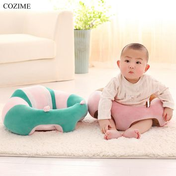 COZIME Infant Baby Support Seat Dining Chair Sofa Safety Cotton Plush Travel Car Seat Pillow Cushion 0-1 Years Baby Seats Sofa