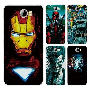 Deadpool Dead pool Taco For Huawei Honor 5A LYO-L21 U29 5.0'' east2 Version Case Cover Charming Iron man  Fundas For Huawei Honor 5A Case AT_70_6